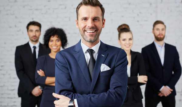 管理職の男性