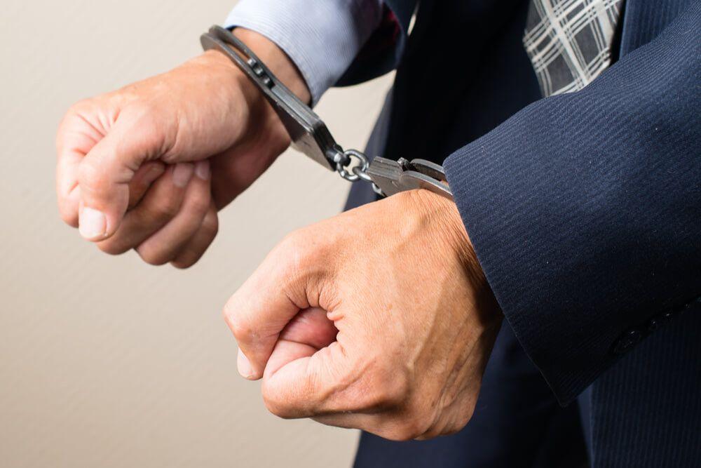 内部告発によってつかまった男性