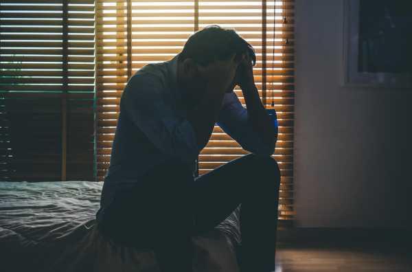 うつ病で休職したい男性