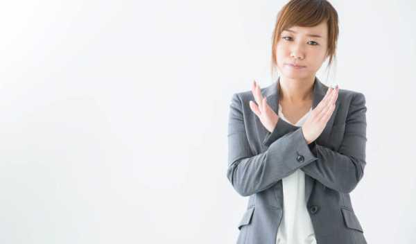 36協定違反を申告する女性