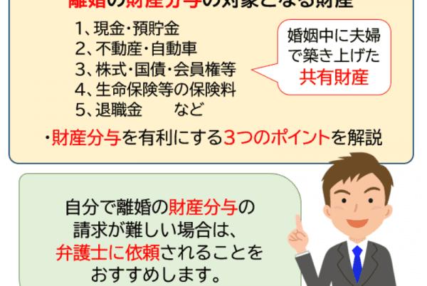 【弁護士が解説】離婚の財産分与の分け方と有利にする3つのポイント